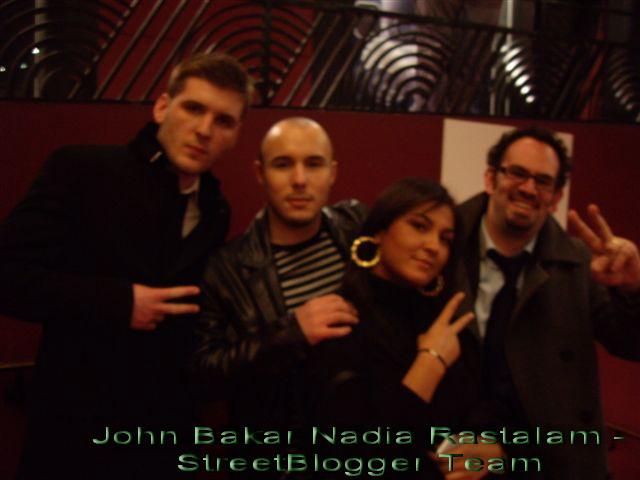 Streetblogger team et Bakar